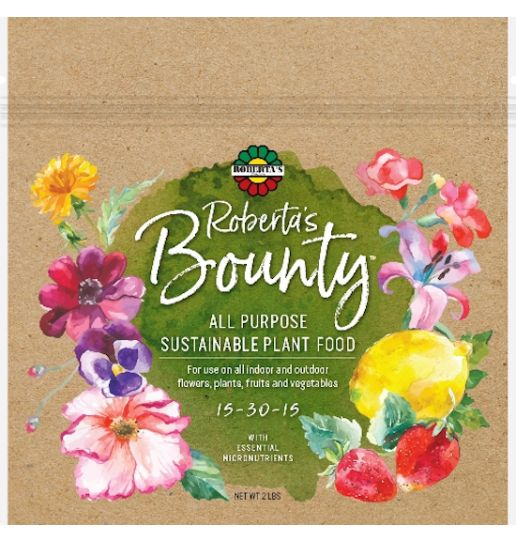 Roberta's Bounty All Purpose Sustainable Plant Food with Essential Micronutrients